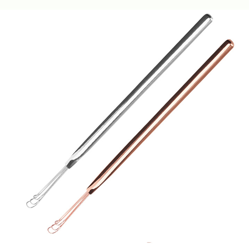 Portable Stainless Steel Ear Pick Cleaner Digging Earpick Ear Spoon Health Care Cleaning Tool фото