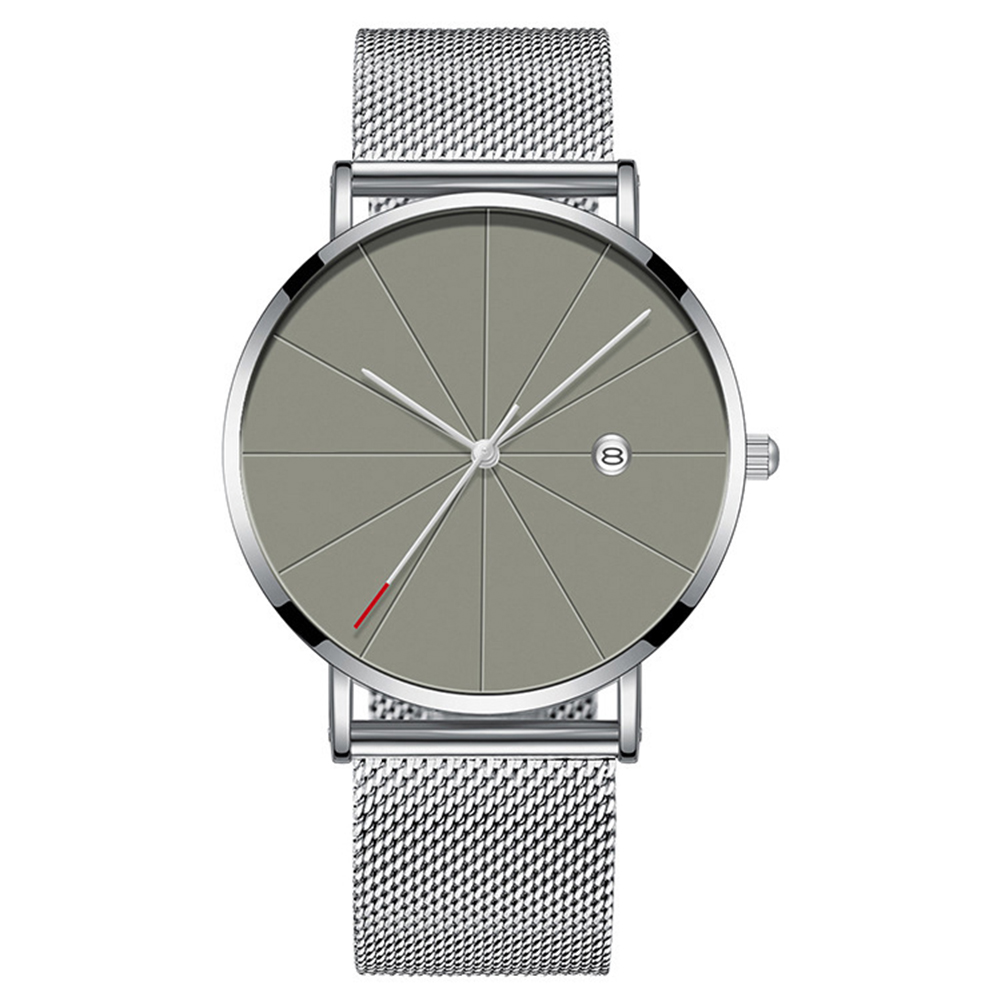 Men's Fashion Ultra-thin Watch Elegant Simple Business Life Waterproof Quartz Watches фото