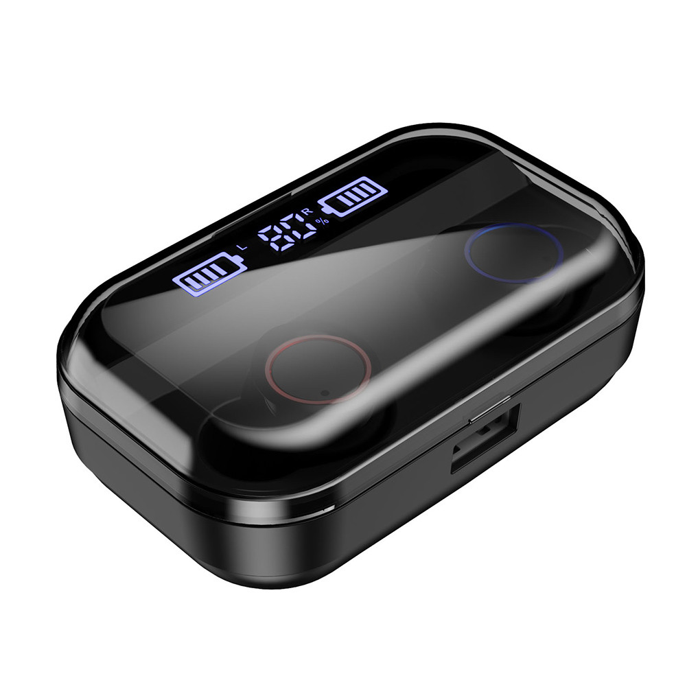 TWS Wireless Earphone Bluetooth 5.0 Earphones Power Display Touch Control Sport Stereo Cordless Earbuds Headset Charging Box фото