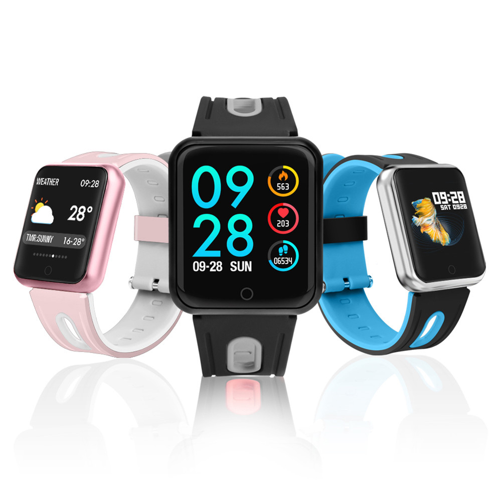 Sports Smart Watch fitness bracelet activity tracker heart rate monitor blood pressure For ios Android фото