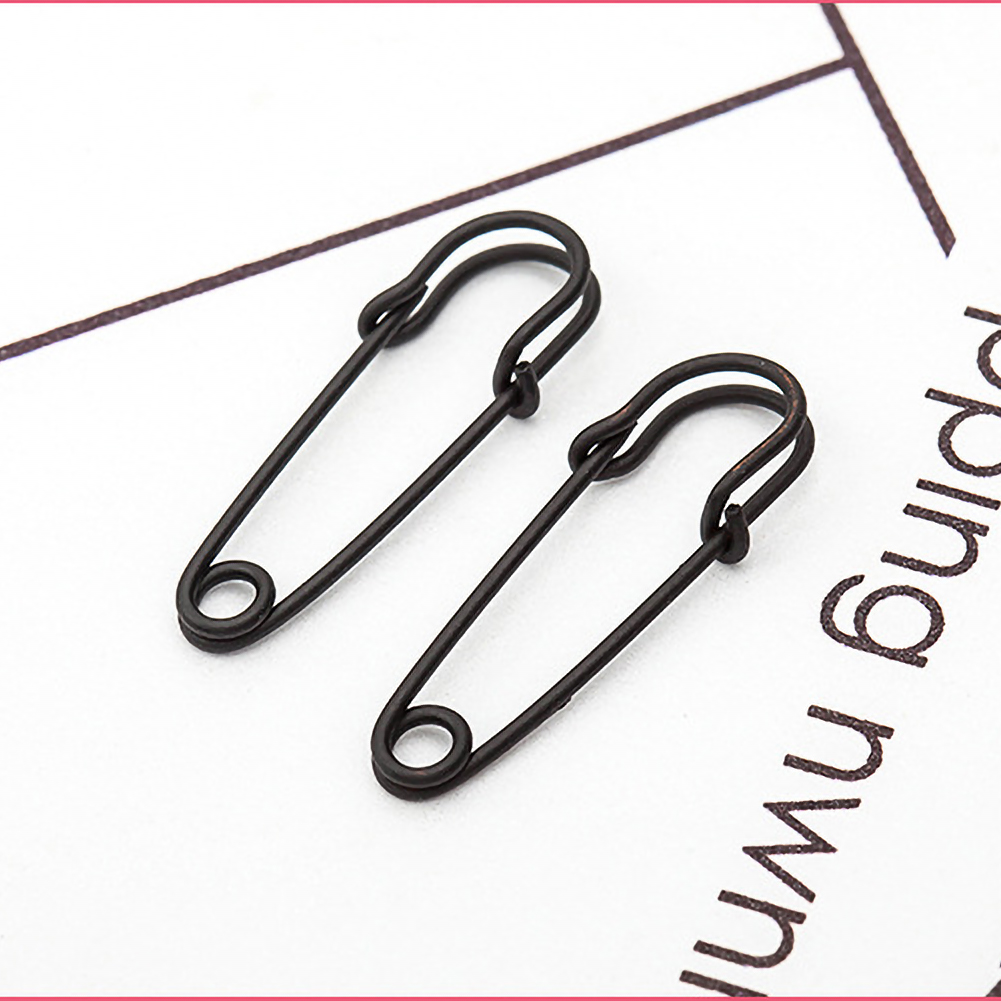 Personality Hip-hop Punk Style Safety Pin Puncture Creative Earrings Alloy Ear Jewelry Accessories фото