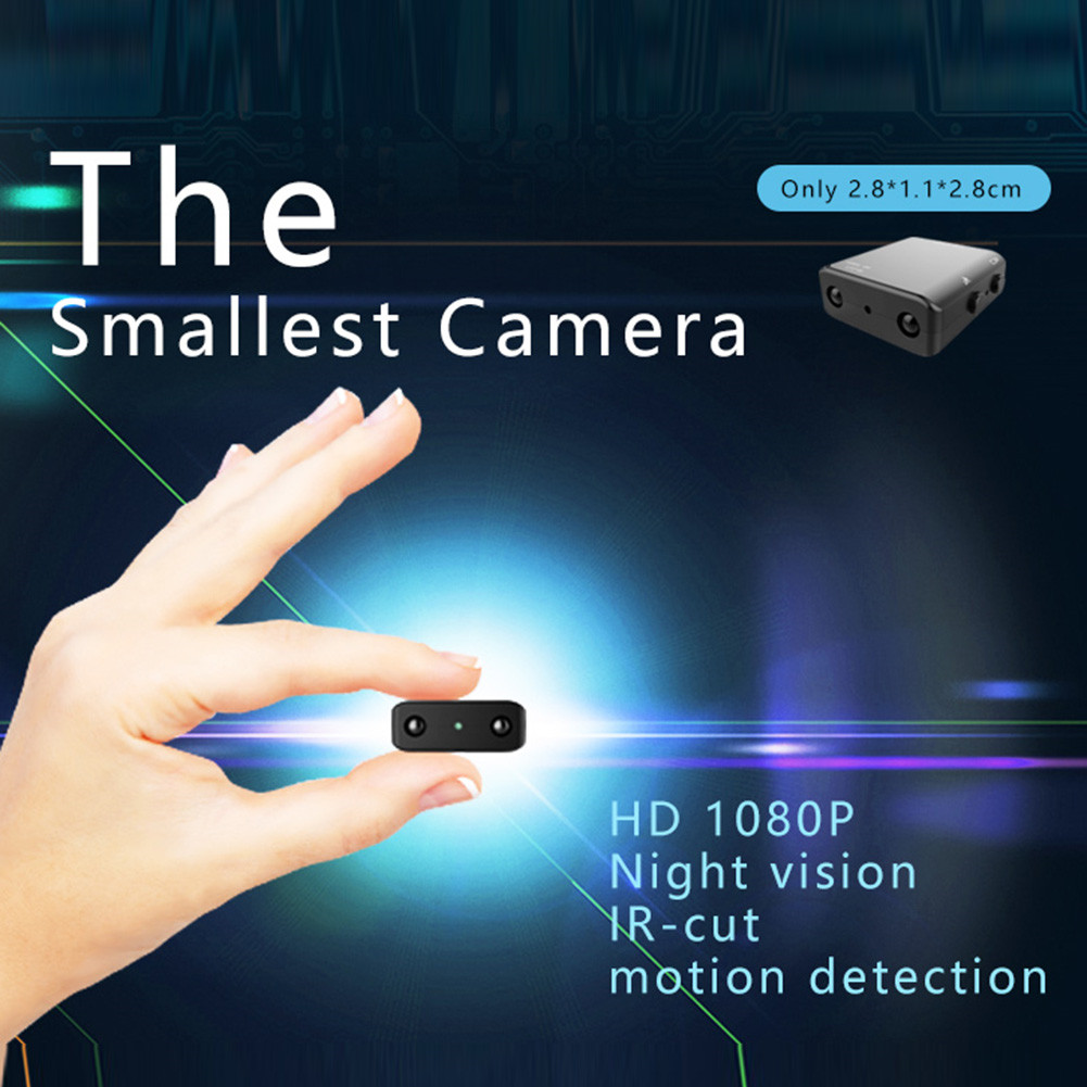 Mini Camera Smallest 1080P Full HD Camcorder Infrared Night Vision Micro Cam Motion Detection DV Security camera фото