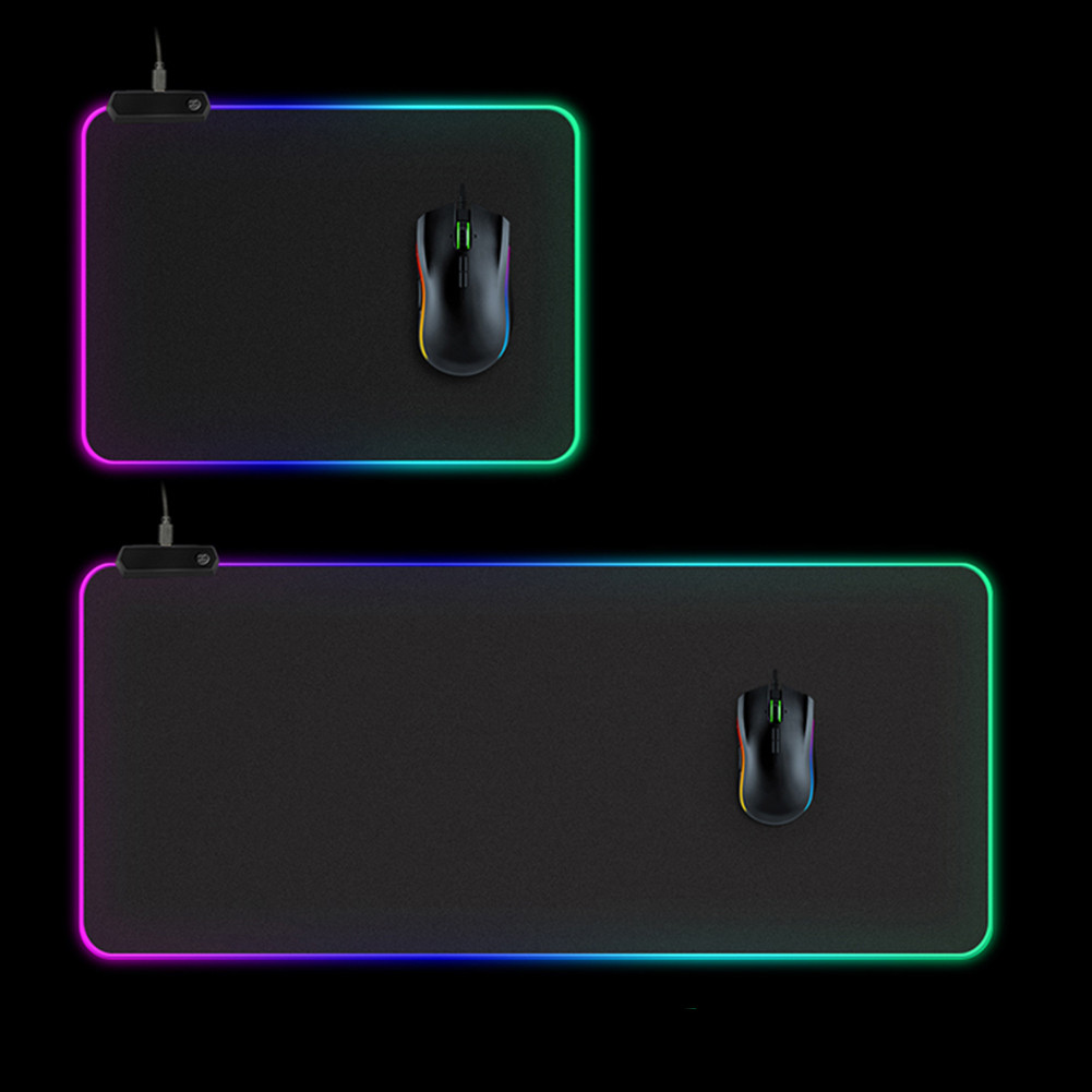 RGB Gaming Mouse Pad Large Mouse Pad LED Computer Mousepad Big Mouse Mat with Backlight Carpet