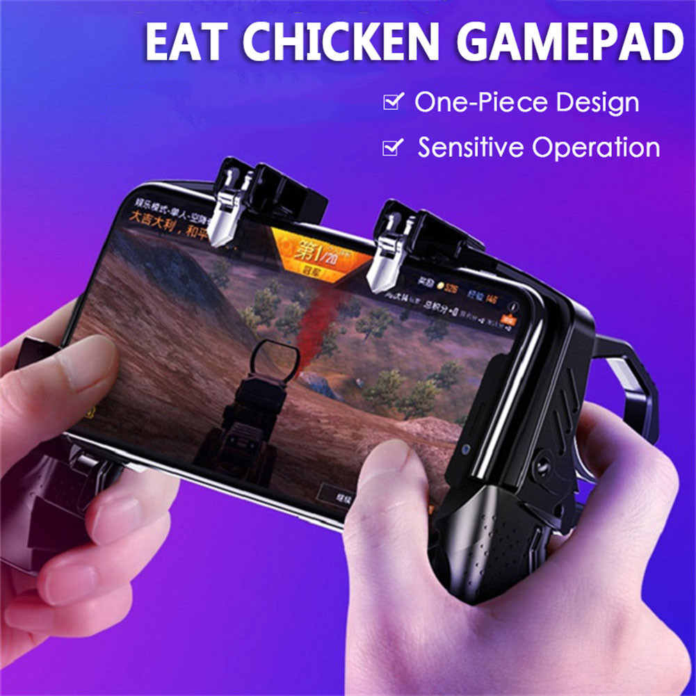 For Pubg Controller For Mobile Phone Game Shooter Trigger Fire Button For IPhone Android Phone Gamepad