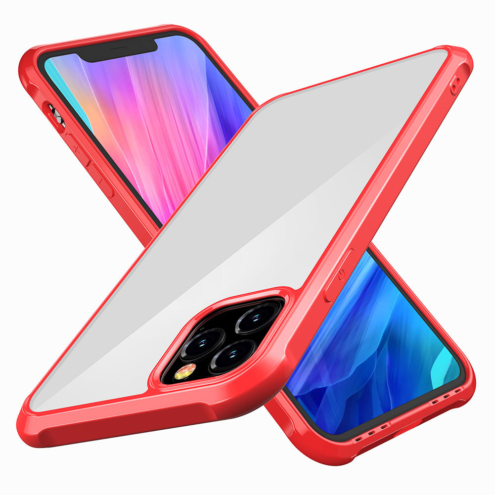 Shockproof Phone Case For iphone 11/11 pro Max Cases Transparent Protection Back Cove фото