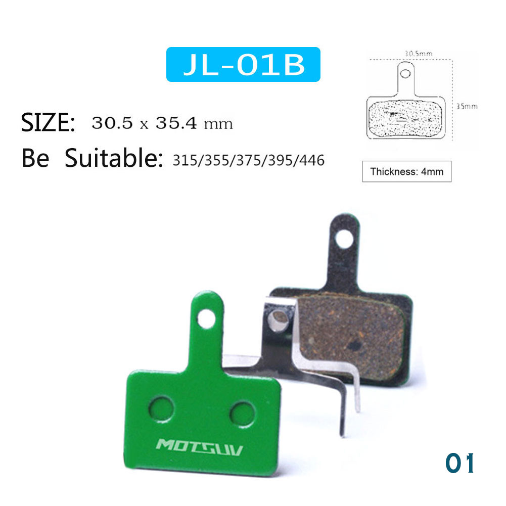 1 Pair Bicycle Ceramics Disc Brake Pads Friction Pad MTB Hydraulic Disc Brake Fittings фото