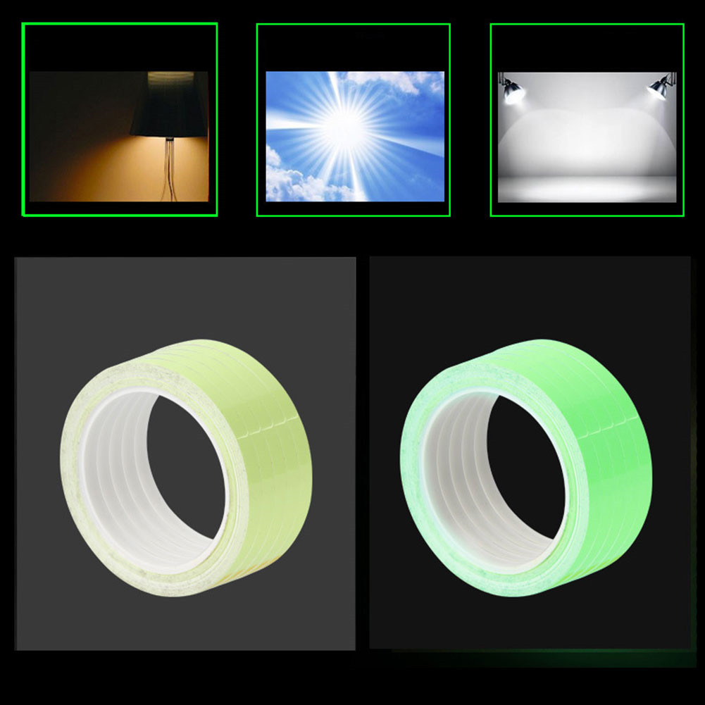 Bicycle Reflective Tape Sticker 8 Meters DIY Luminous Warning Stickers for Driving at Night фото