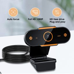 2K Webcam Full HD 1080P Web Camera For Computer USB webcam with microphone Auto focus webcams